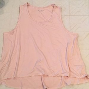 Athleta barre or yoga top size M.